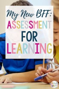 Assessment for learning is every teacher's BFFs! Click through to learn the 5 key components and start using it in your teaching. | elementary | mark | teachers | student