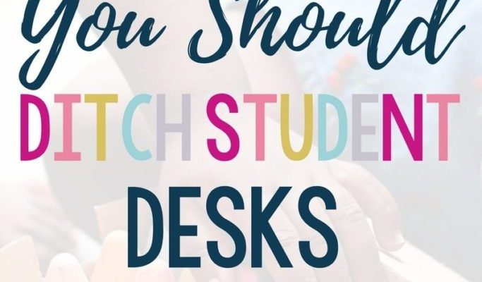 Getting tired of desks? I am too! Here are my top 10 reasons why you should ditch student desks. Click through to read them all! | get rid of desks | declutter | classroom organization | layout | teaching