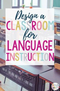 Whether it's the beginning of a new year or not, it's never too late to design a room for language instruction! Click through to learn how. elementary | themes | ideas | high school | middle |