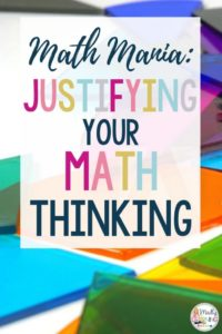 Are your students struggling in math? Teach your students the skill of justifying your math thinking with this step-by-step guide. elementary | teachers | student | justify