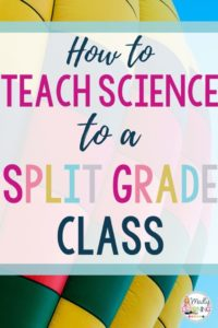 Teaching science to a split grade class can be a struggle, especially since science is a very interactive subject. Learn how to do it with these tips! classroom | students