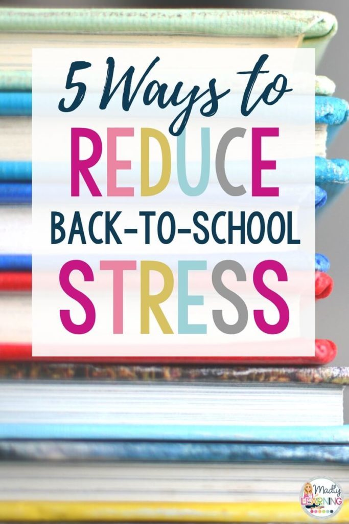 Beginning a new teaching year be a challenging balancing act. Click through to learn how you can reduce back to school stress! | relief | tips | management