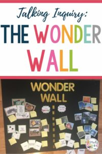 Learning about Inquiry in part one of this video series.  Learn what a WonderWall is and how it is made and used in the classroom through this video series by Madly Learning. inquiry based learning | activities | projects | science | math | process | board
