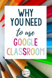 In today's modern classroom, technology is key. Click through to learn why you need to use Google Classroom with your students! elementary   ideas   middle school   tools   secondary   teachers