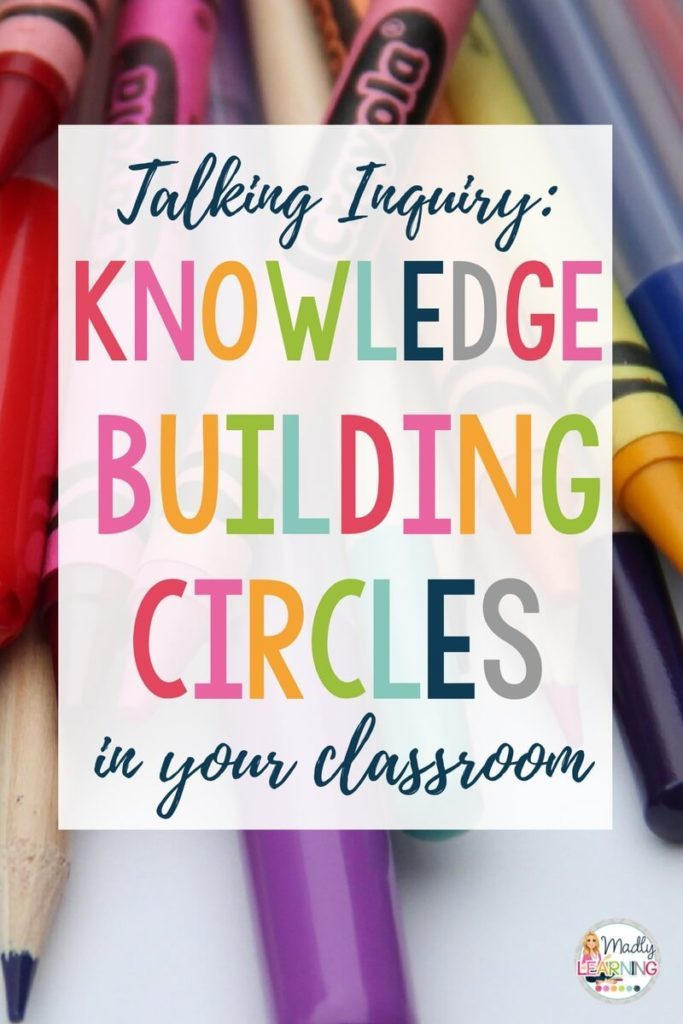 Learn how to use knowledge building circles in the classroom to support student learning through inquiry! | inquiry based learning | activities | projects