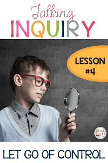 Talking Inquiry – Letting Go of Control
