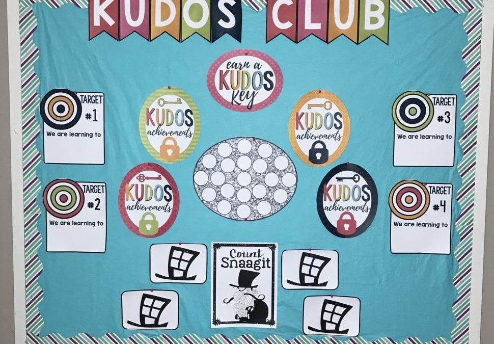 KUDOS CLUB classroom management that builds a community.