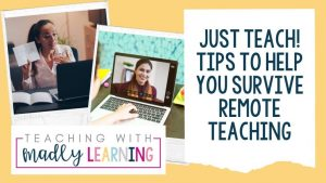 EP 163 - Just Teach! 7 Tips to survive Remote Teaching